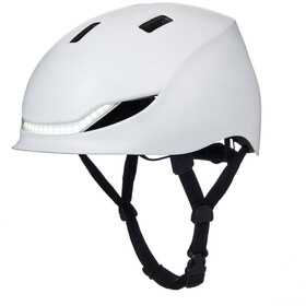 Lumos Matrix Helmet jet white
